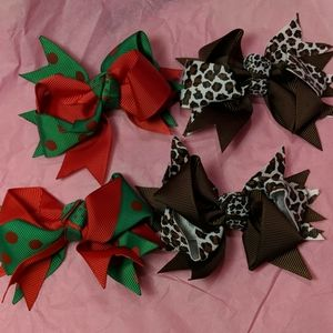 Two Sets of Hairbows